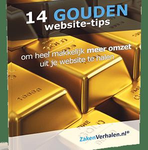 e-book 14 gouden website tips
